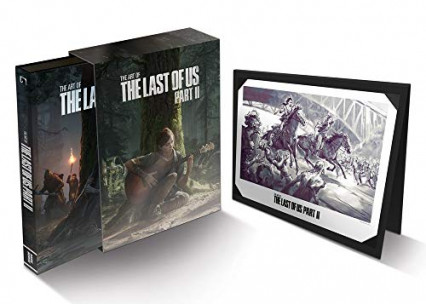 L'artbook officiel version collector en anglais de The Last of Us Part II