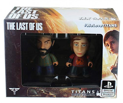 Deux figurines en vinyle The Last of Us