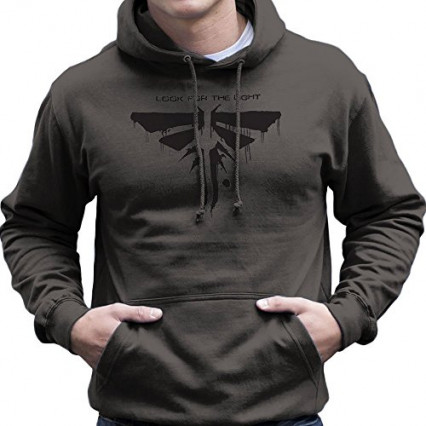 Un sweat à l'effigie des Lucioles de The Last of Us