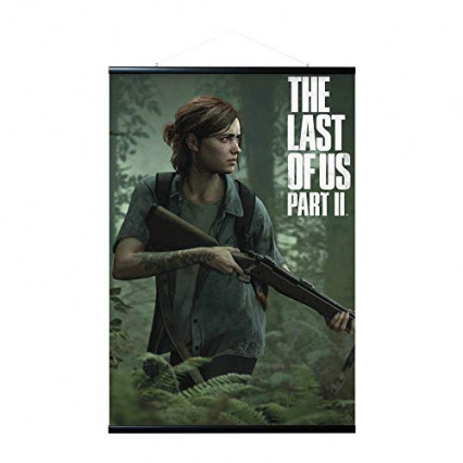 Le poster avec son kit de fixation The Last of Us Part II