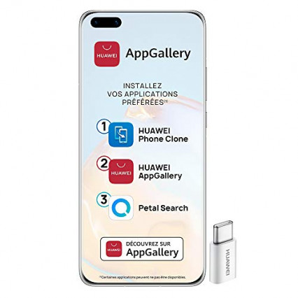 Le smartphone débloqué 5G Huawei P40 Pro