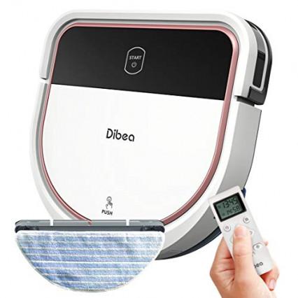 L'aspirateur robot laveur de sol par Dibea