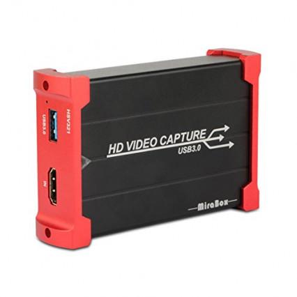 Le boîtier d'acquisition vidéo 3.0 MiraBox ARX321