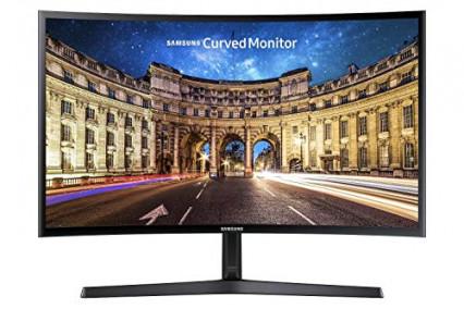 Le petit écran incurvé Samsung C24F396
