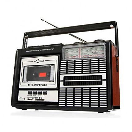 Le radio cassette vintage Ricatech PR85