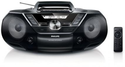 Le lecteur CD cassette portable Philips AZ787