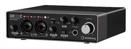 L'interface audio externe Steinberg UR22C
