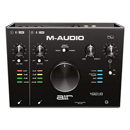 L'interface audio carte son externe M-Audio AIR 192|8