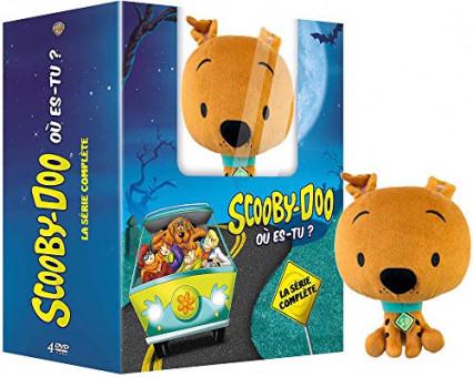 Les saisons 1 et 2 de Scooby-Doo Où Es-Tu avec une peluche