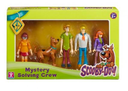 Le Scooby Gang version Mystères associés