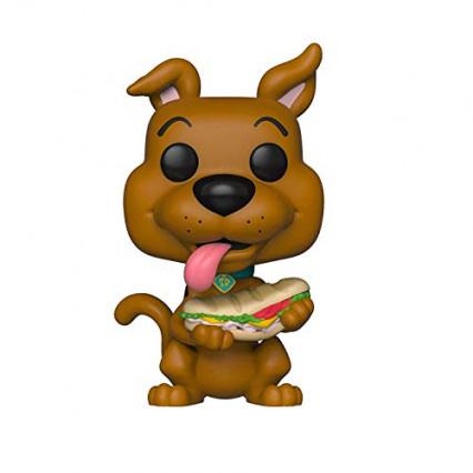La Funko Pop de Scooby-Doo mangeant un sandwich