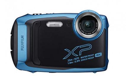 L'appareil photo étanche et design Fujifilm XP140