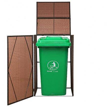 Le cache-poubelle individuel