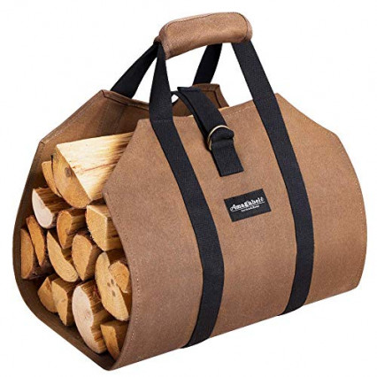 Le sac à bûche robuste