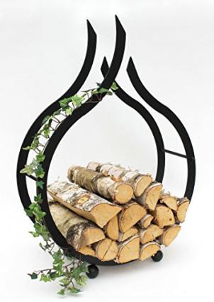 Le support à bois décoratif