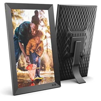 """Le cadre photo format portrait ou paysage 15,6"""" par Nix"""