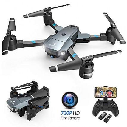 Le drone suiveur pliable grand angle Snaptain A15