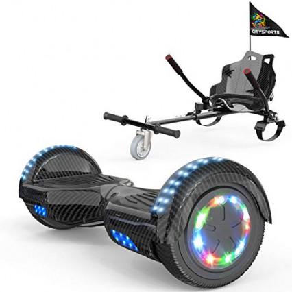 L'hoverboard et son hoverkart par Colorway
