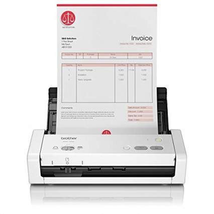 Le scanner de documents compact et portable Brother ADS-1200