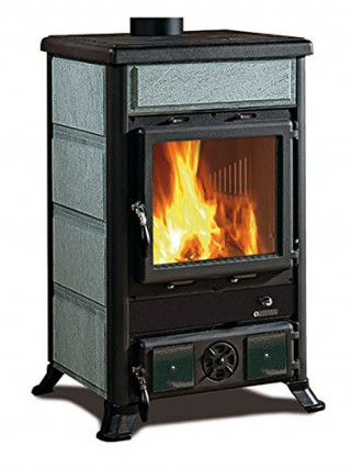 Le foyer en fonte avec système post combustion Rossella R1 BII par Nordica ExtraFlame