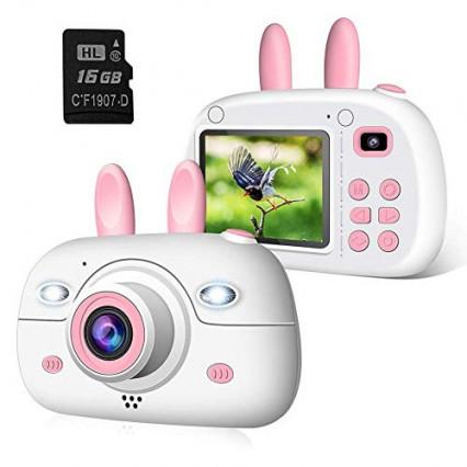 L'appareil photo avec des oreilles de lapin 2NLF