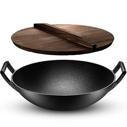 Le wok à très grande capacité