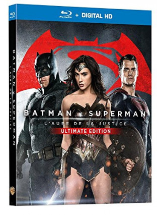 Le film Batman v Superman : l'Aube de la Justice version longue en blu-ray