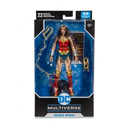 La figurine articulée et ses accessoires Wonder Woman 1984 par McFarlane