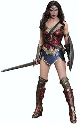 La figurine réaliste de Wonder Woman par Hot Toys