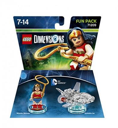 Le pack d'extension LEGO Wonder Woman pour le jeu vidéo LEGO Dimensions