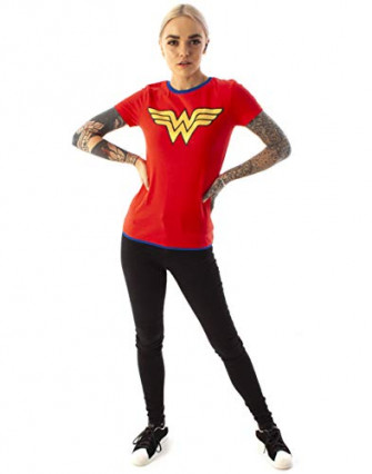 Le t-shirt Wonder Woman vintage