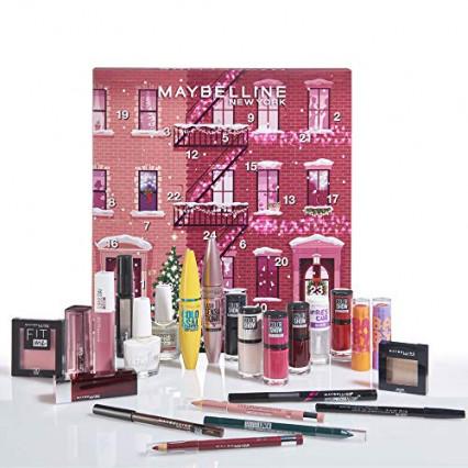 Le calendrier de l'Avent beauté avec Maybelline
