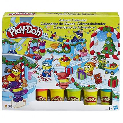 Le calendrier de l'Avent Play-Doh