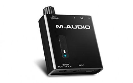 L'amplificateur portable avec double sortie M-Audio Bass Traveler