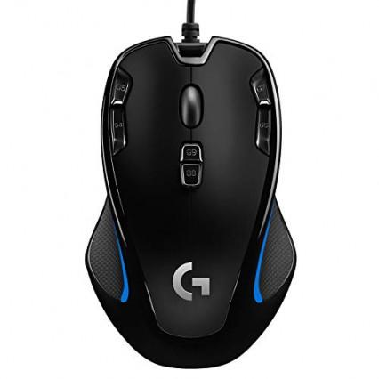 La souris gaming ambidextre symétrique Logitech G300S