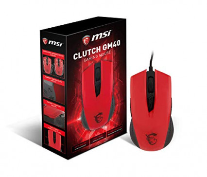 La souris gaming ambidextre filaire MSI Clutch GM40