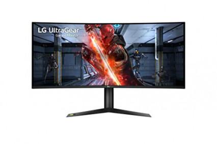 L'écran 4K gaming ultra large incurvé LG UltraGear 38GL950G-B