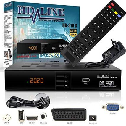Le décodeur satellite sans carte HD Line HD-310 S