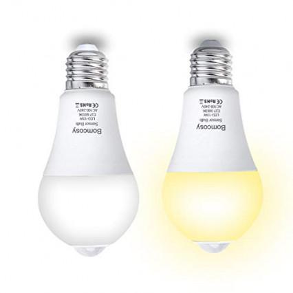 Le duo d'ampoules blanc froid E27 par Bomcosy