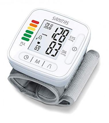 Le tensiomètre électronique de poignet Sanitas SBC 22