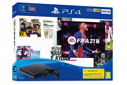 La PlayStation 4 Slim avec FIFA 21