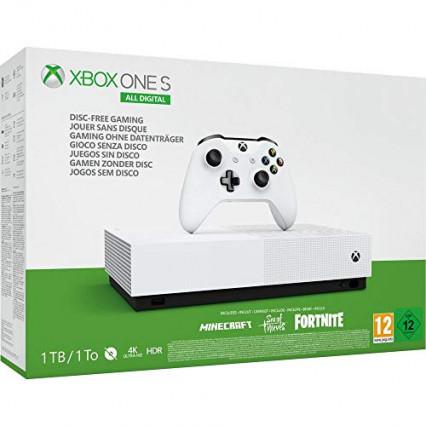 La Xbox One S All Digital, la console sans lecteur de disque
