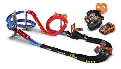 Le Méga Circuit Super Loop avec sa Montre Voiture, par VTech