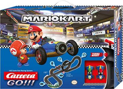 La course sur circuit électrique Mario Kart par Carrera GO !!!