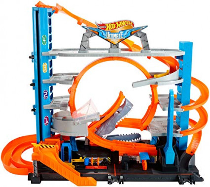 Le Méga Ultimate Garage par Hot Wheels City