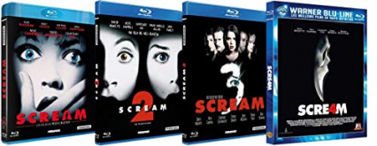 La quadrilogie Scream en blu-ray, de Wes Craven