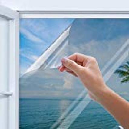 Un filtre anti-UV à coller sur les fenêtres de votre habitation