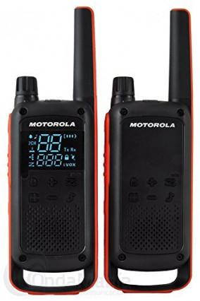 Le talkie-walkie radio avec fonction mains libres