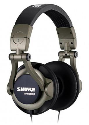 Casque DJ ShureSRH550DJ-E: un son irréprochable