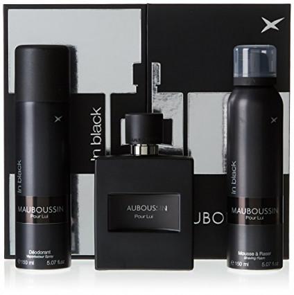 Un coffret avec du parfum